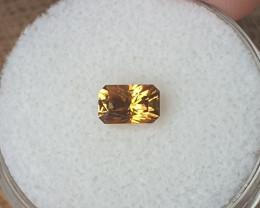 0,95ct Golden Zircon - Master cut!
