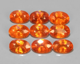 5.00 Cts~Natural Shocking Fanta Orange Spessartite Garnet Namibia, Amazing!