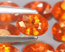 5.60 Cts~Natural Shocking Fanta Orange Spessartite Garnet Namibia, Amazing!