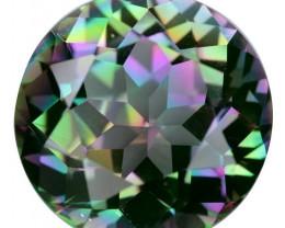 16.19 Cts Amazing Rare Fancy Fancy Color Natural Mystic Quartz