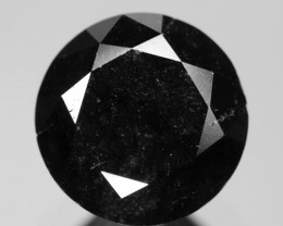 0.93 Cts Amazing Rare Fancy Black Color Natural Loose Diamond