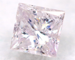 Pink Diamond 2.4mm Natural Untreated Fancy Diamond AT0808