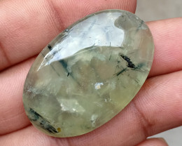74.79 CT Prehnite Cabochon Good Quality Natural+Untreated VA2730