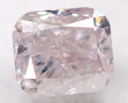 Pink Diamond 2.4mm Natural Untreated Fancy Diamond AT0814