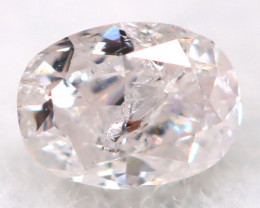 Light Pink Diamond 2.6mm Natural Untreated Fancy Diamond AT0815