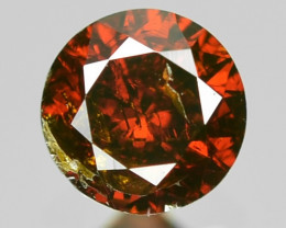 0.12 Sparkling Rare Fancy Intense Red Color Natural Loose Diamond