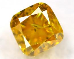 Orange Diamond 0.17Ct Natural Untreated Fancy Diamond AT0828