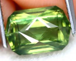 Green Apatite 3.49Ct Master Cut Natural Green Apatite AT0855