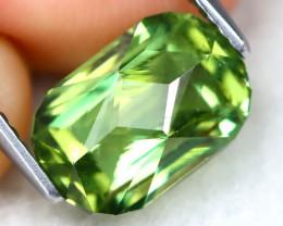 Green Apatite 4.73Ct Master Cut Natural Green Apatite AT0858