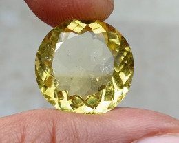 19CT LEMON QUARTZ Top Quality Gemstone Natural Untreated VA2763