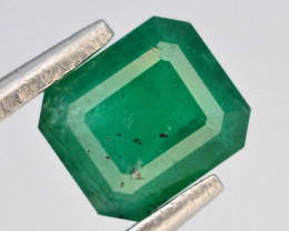 1.25 ct Natural Vivid Green Color Emerald~Swat