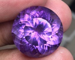 17.40 CT RARE INDONESIAN AMETHYST + CERTIFIED