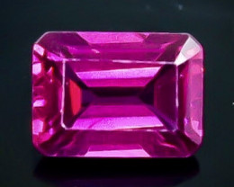 1.40 Crt  Rhodolite Garnet Faceted Gemstone (Rk-78)