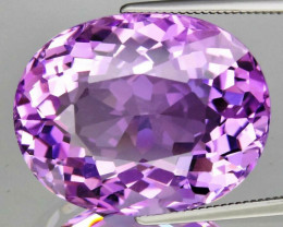 22.33 ct 100% Natural Earth Mined Unheated Purple Amethyst, Uruguay