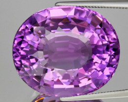 28.83 ct 100% Natural Earth Mined Unheated Purple Amethyst, Uruguay
