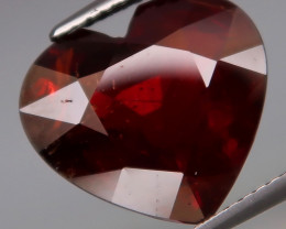9.14 ct 100% Natural Earth Mined  Red Spessartite Garnet, Namibia