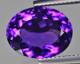 Brazilian Amethyst 5.91 Cts Purple Step Cut BGC538