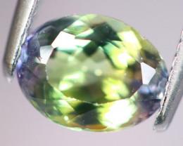 1.68cts Natural Green-ish Blue D Block Tanzanite Stone / KL263