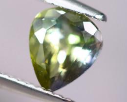 1.64cts Natural Green-ish Blue D Block Tanzanite Stone / KL265