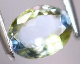 1.48cts Natural Green-ish Blue D Block Tanzanite Stone / KL283
