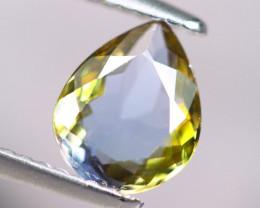 1.67cts Natural Green-ish Blue D Block Tanzanite Stone / KL288