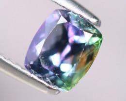 1.56cts Natural Green-ish Blue D Block Tanzanite Stone / KL289