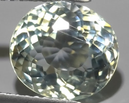 3.60 Cts - Sparkling Luster -Oval~Cut- Natural Rare Aquamarine !!