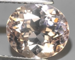 2.45 EXTRAORDINARY & VERY RARE MORGANITE BRAZIL EXCELLENT!!