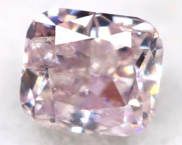 Pink Diamond 2.4mm Natural Untreated Fancy Pink Diamond AT0939