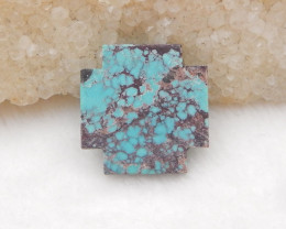 10.5cts  Turquoise ,Handmade Gemstone ,Turquoise Cabochons ,Lucky Stone H12