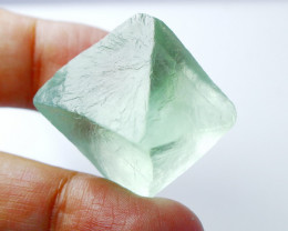234.50 CT Natural - Unheated Green Fluorite Crystal Rough