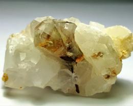 Amazing Natural Damage free Rare Brookite with Quartz specimen 192Cts-P