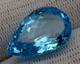 14.45CT BLUE TOPAZ BEST QUALITY GEMSTONE IIGC006