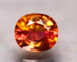Tourmaline 1.15Ct Natural Reddish Orange Tourmaline DR324/B19
