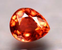 Tourmaline 1.36Ct Natural Reddish Orange Tourmaline DR326/B19