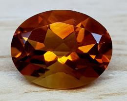 1.85Crt Madeira Citrine Natural Gemstones JI56