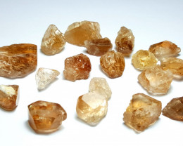Amazing Natural color Gemmy quality Crystals type Topaz lot 250Cts-P#N-N