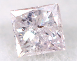 Pink Diamond 0.10Ct Natural Untreated Fancy Diamond AT0979