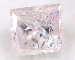Pink Diamond 2.4mm Natural Untreated Fancy Diamond AT0981
