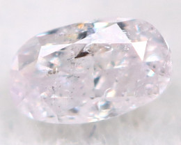 Pink Diamond 2.5mm Natural Untreated Fancy Diamond AT0986
