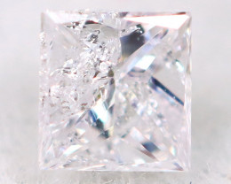 Pink Diamond 2.5mm Natural Untreated Fancy Diamond AT0987