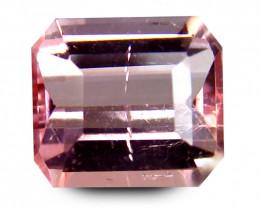 1.06 Cts Africa Tourmaline Pink Octagon Antique Step Cut BGC171