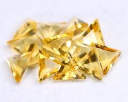 Golden Citrine 3.91Ct 13Pcs Natural Golden Yellow Cittine Lot A1503