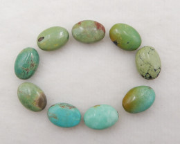 49.5cts Natural Turquoise Beads,Handmade Gemstone ,Turquoise parcel  H132