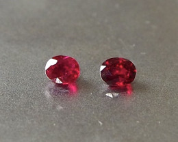 0.71ct unheated pigeon blood ruby