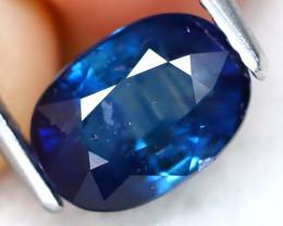 Blue Sapphire 2.28Ct Oval Cut Natural Blue Sapphire B1617