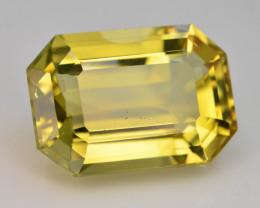Brilliant Yellow Color &  Cut 9.90 Ct Natural Citrine ~ Africa