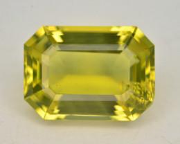 Brilliant Yellow Color &  Cut 11.80 Ct Natural Citrine ~ Africa
