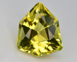 Brilliant Yellow Color &  Cut 9.30 Ct Natural Citrine ~ Africa