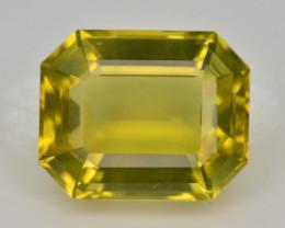 Brilliant Yellow Color &  Cut 10.60 Ct Natural Citrine ~ Africa